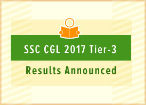 SSC CGL 2017 Tier-3 Results