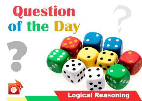 qotd logical reasoning dice pendulumedu
