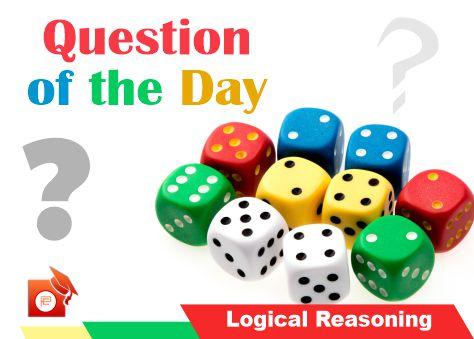 qotd logical reasoning dice pendulumedu