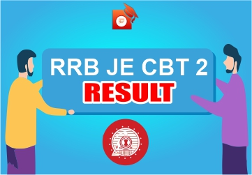 RRB JE CBT 2 Result