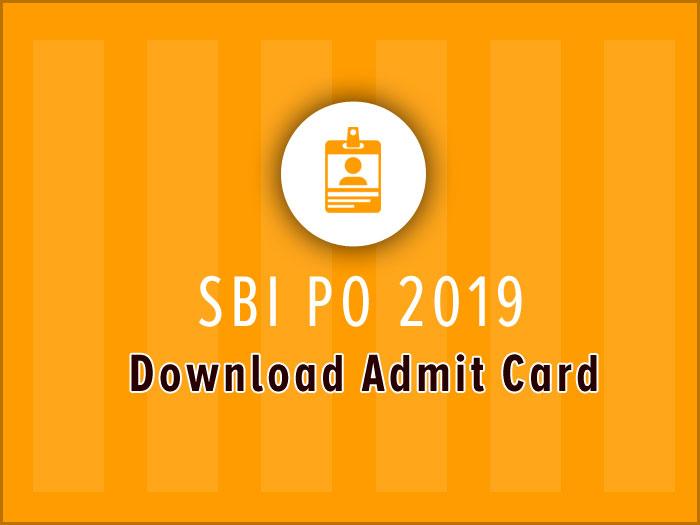 sbi download admit card