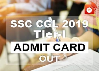 SSC CGL Admit Card Tier 1