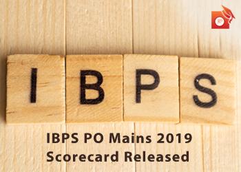 IBPS PO Mains Scorecard 2019