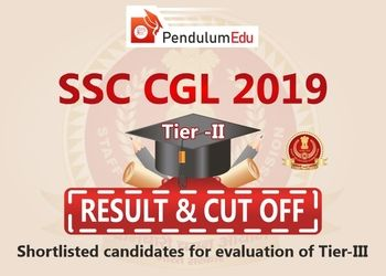 SSC CGL Tier 2 Cut off of SSC CGL 2019