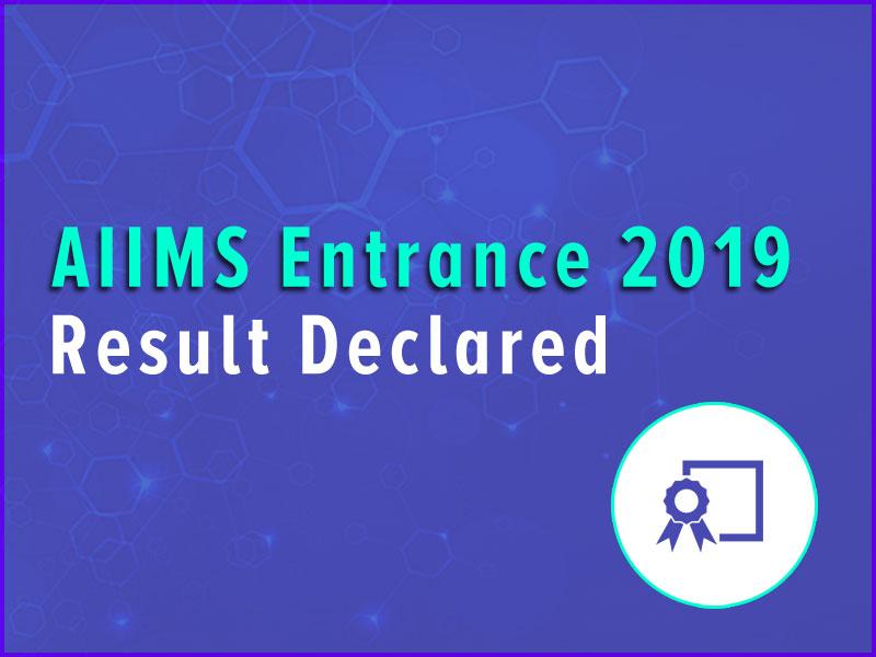 aims result declare 2019