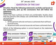 Logical Reasoning - Decision Making - 20 Jan 2020