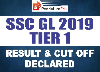 ssc cgl 2019 tier 1 result and cutoff pendulumedu