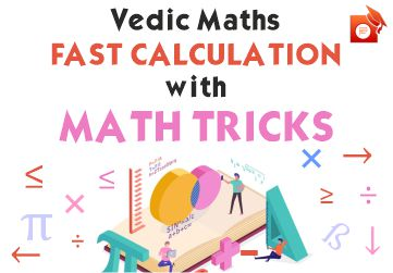 Tricks for fast maths calculation in competitive exams
