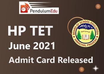 HPTET 2021 Exam Date June