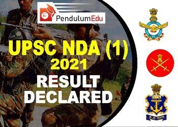 NDA 2021 Result | NDA 1 2021 Result PDF