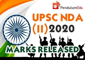 UPSC NDA Result 2020 Marks List