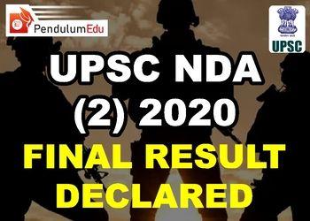 UPSC NDA Result 2020 Roll Number List