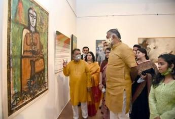 Minister of State for Culture and Tourism inaugurated All-Women's Art Exhibition
