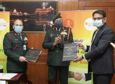 Indian Army and Bank of Baroda signed an MoU