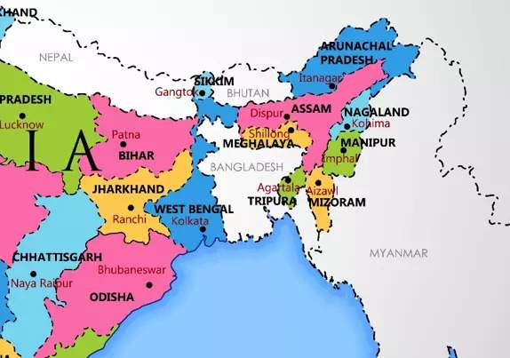 India Nepal Map Daily Current Affairs february 28 2020
