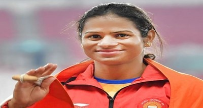 Dutee Chand will be honored with Chhattisgarh Veerni Award