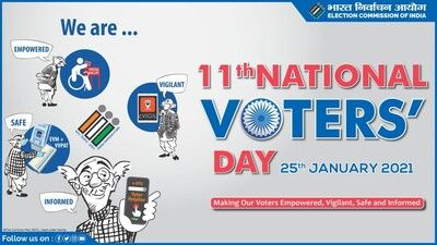 eleventh national voters day