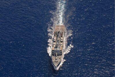 INS Sarvekshak is deployed in Mauritius for hydrographic survey