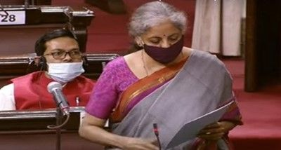 Nirmala Sitharaman introduces Insurance (Amendment) Bill, 2021