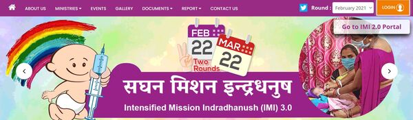 Intensified Mission Indradhanush 3.0