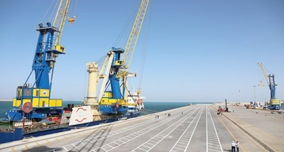 India supplied two Mobile Harbour Cranes to Iran