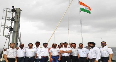 MV Jag Anand ship reached Japan