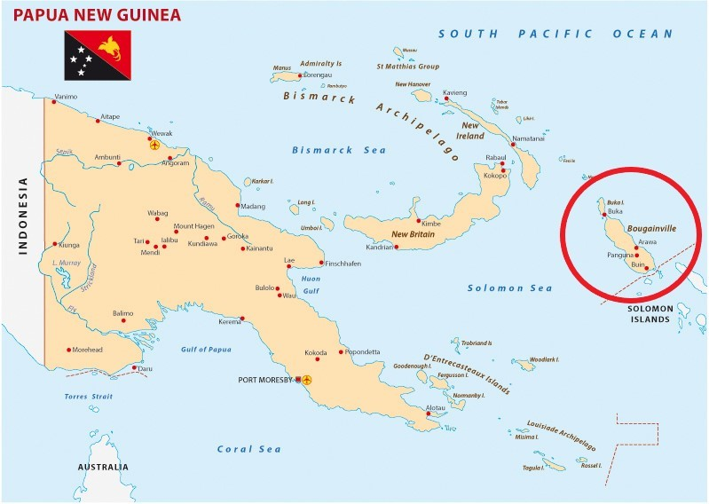 papua new guinea map pendulumedu daily current affairs
