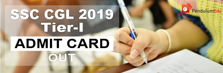 SSC CGL 2019 Tier 1 Admit card download